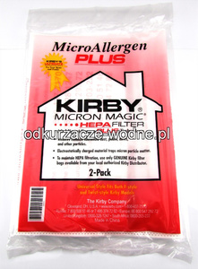 WOREK KIRBY MICRON MAGIC HEPA 1 sztuka FILTRATION ALLERGEN TECHNOLOGY
